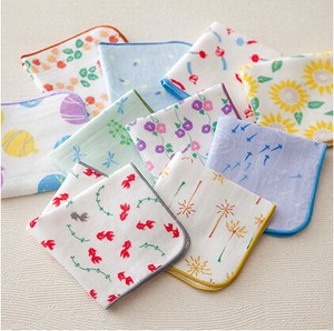 Japanese Craft Gauze Towel Handkerchief Japanese Pattern