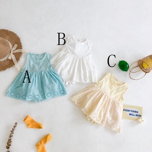 Baby Sleeveless Lace Lace Rompers Skirt Kids Baby