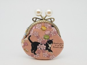 Feeling Coin Purse Pouch Coin Case Base Cat Macaroon