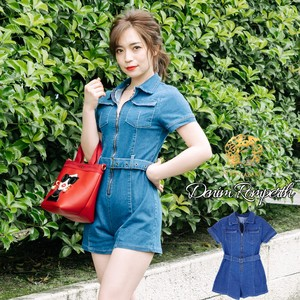 [ 2020NewItem ] Rompers Denim Body Suits Casual Sexy