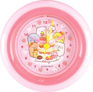 Sumikko gurashi Round Clock Strawberry