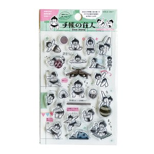 Clear Stamp Sumo Decoration Notebook Stamp Letter Craft Halloween