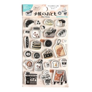 Clear Stamp Decoration Notebook Stamp Coffee