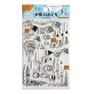 Clear Stamp Garland Wrapping Birthday Decoration Stamp Letter