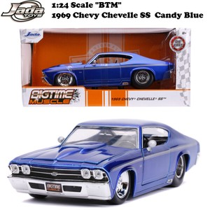 and Blue Model Car
