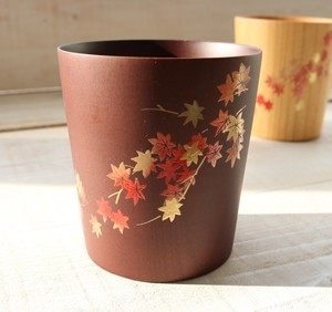 Feel Cup and Makie Cup Autumn Colors Dark Brown