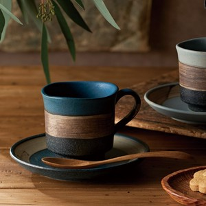 Plates & Utensil Coffee Plate Sepia Coffee Cup Saucer Blue