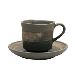 Sepia Cup Saucer Brown