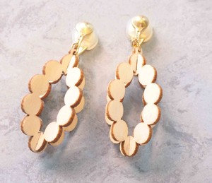 White Birch Accessory 3E Earring Circle Little