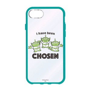 Disney Character Clear iPhone Case Alien