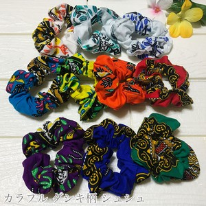 Scrunchy African Fabric African Ethnic Kids Ladies Hair Elastic