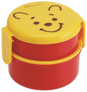 Round shape Lunch Box 2 Steps Face