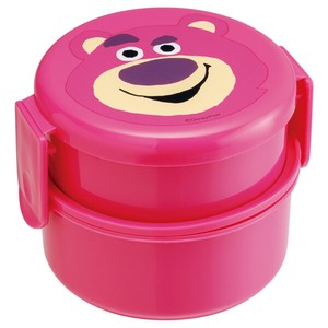 Round shape Lunch Box 2 Steps