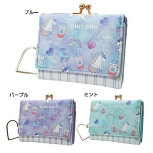Unicorn Three Compact Wallet