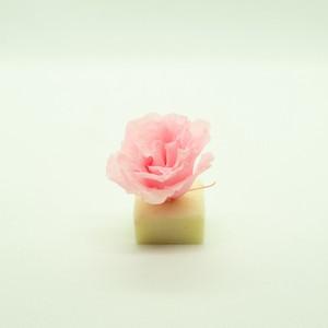 プリザーブドフラワー花材 フィオリエンテ リシアンサス ピンク 6輪入り
