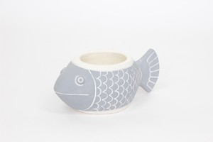 Planter Ornamental Plant Pot Fish Pot size