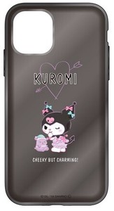 Sanrio Character Clear iPhone Case Black