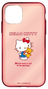 Sanrio Character Clear iPhone Case Hello Kitty