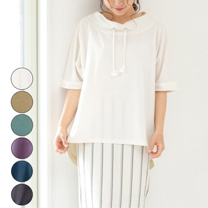 Fleece High Neck Dolman Pullover mitis