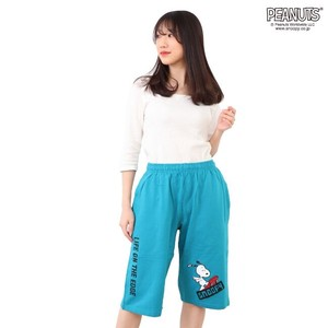 Snoopy Fleece Half Pants