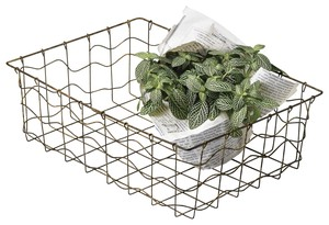Gift Storage Interior Shop Display Tools/Furniture Wire Basket Ornament
