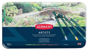 Artist Metal Case 2 Colors Set Colored Pencil