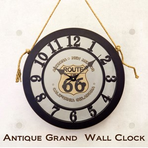 """2020 New Item"" Antique Land Wall Clock"