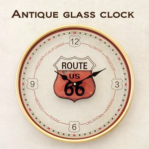 """2020 New Item"" Antique Glass Clock"