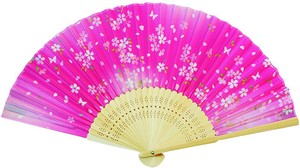 Coloring Japanese Folding Fan - Sakura