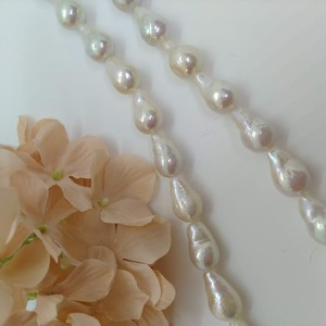 Freshwater Pearl Long Drop Single White