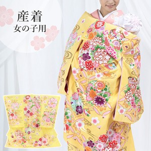 Girl 3 Colors Yellow Yellow Flower Cloisonne Girl Kimono Kids Kimono Baby