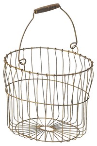 Storage Interior Shop Display Tools/Furniture Wire Basket Ornament 3-unit Set