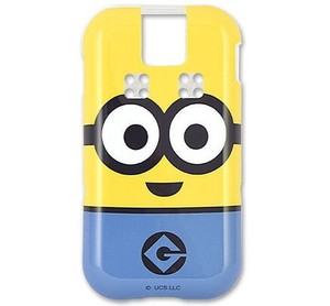 Series Minions Docomo Kids Portable Phone soft Case Icon