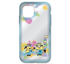 Series Minions Clear iPhone Case Ice Cream