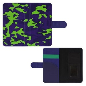 Notebook Type Smartphone Cover Camouflage
