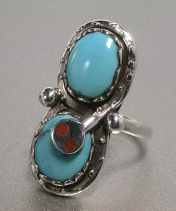 Silver 925 Natural Turquoise Ring Turquoise Silver Ring Snake