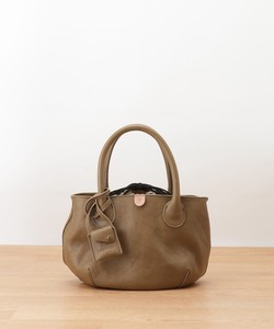 Leather Pouch Mini Tote