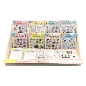 Clear Stamp Notebook Resident Notebook Acrylic Block Tools/Furniture Set