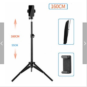 Stand Holder Tablet High Tripod Smartphone Smartphone Lamp Attached