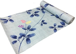 Japanese yukata fabric(bush covers) blue