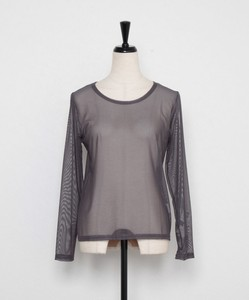 All Year Inner Crew Neck Long Sleeve Mesh Inner
