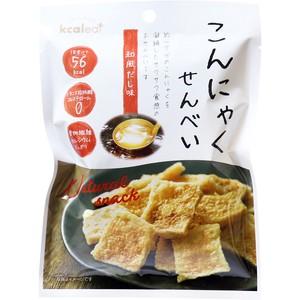 ※こんにゃくせんべい 和風だし味 15g【食品】