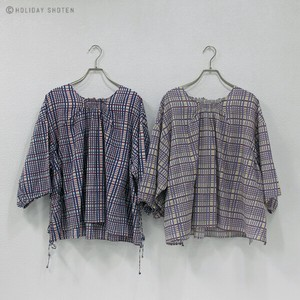 One Hand Pullover Checkered