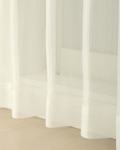 Mirror Lace Curtain White