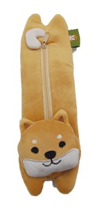 Shibatasan Soft Toy Pencil Case Shiba Dog