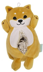 Objects and Ornaments Ornament Pocket Tissue Box Cover Shiba Dog