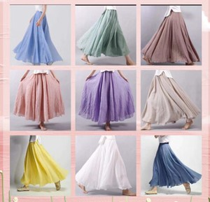 [ 2020NewItem ] Long Skirt 9 Colors