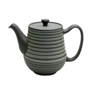 "Coffee ""Tokoname ware"" Pot Bicolor Pot"