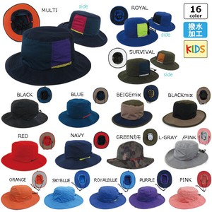 Kids Water-Repellent Adventure Hat