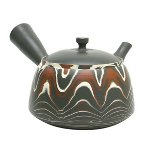 Pattern TOKONAME Ware Pattern Japanese Tea Pot Fuji Pattern Japanese Tea Pot